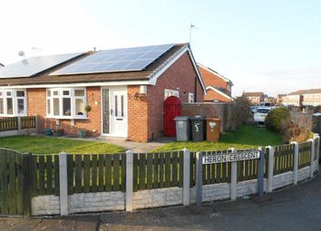 Thumbnail 2 bed semi-detached bungalow for sale in Heron Crescent, Sydney, Crewe, Cheshire