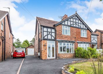 Thumbnail 3 bed semi-detached house for sale in Nantwich Road, Middlewich