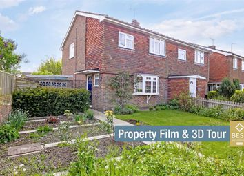 Thumbnail 3 bedroom semi-detached house for sale in West End, Herstmonceux, Hailsham