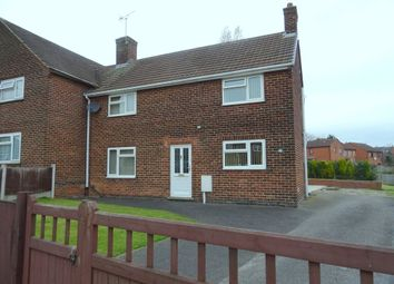 Thumbnail 3 bed semi-detached house to rent in Springfield Crescent, Somercotes, Alfreton
