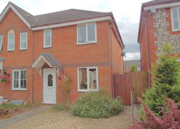 Thumbnail 3 bed end terrace house for sale in Taverham, Norwich, Norfolk