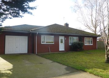 Thumbnail 4 bed detached bungalow to rent in York Close, Beck Row, Bury St. Edmunds