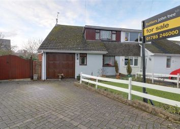 Thumbnail 3 bed semi-detached house for sale in Tylecote Crescent, Great Haywood, Stafford