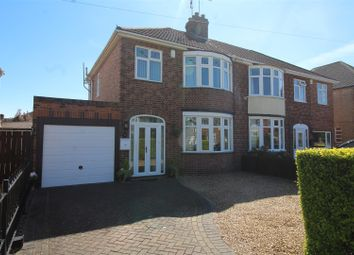 Thumbnail 3 bed semi-detached house for sale in The Flats, Paston Ridings, Peterborough