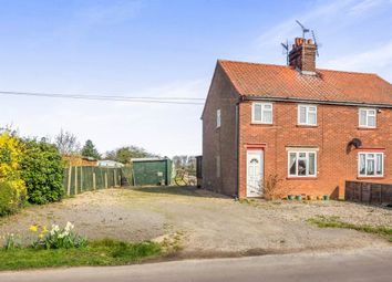 Thumbnail 3 bedroom semi-detached house for sale in High Hill, Hickling, Norwich