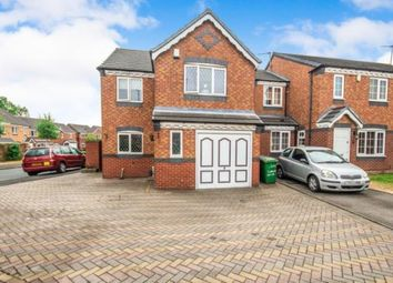 Thumbnail 3 bed detached house for sale in Conwy Close, Walsall, West Midlands