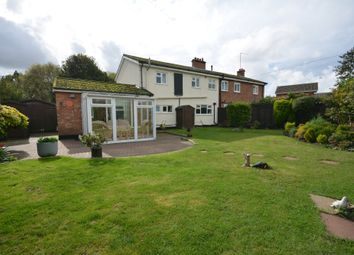 Thumbnail 3 bed semi-detached house for sale in Mill Lane, Wrentham, Suffolk