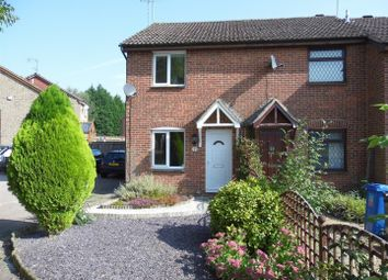 Thumbnail 2 bed semi-detached house to rent in Swinderby Drive, Oakwood, Derby