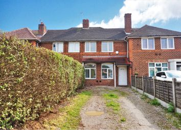 Thumbnail 2 bed terraced house for sale in Eddish Road, Kitts Green, Birmingham
