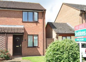 Thumbnail 1 bed terraced house for sale in Culm Lea, Cullompton