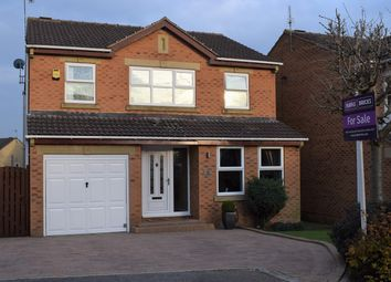 Thumbnail 4 bed detached house for sale in North Field, Barnsley