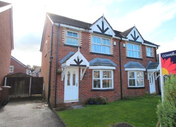 Thumbnail 3 bedroom semi-detached house for sale in Pleasant Street, Castleton, Rochdale, Greater Manchester