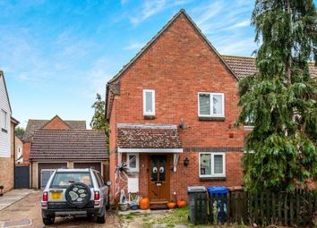 Thumbnail 3 bed semi-detached house for sale in Beck Row, Bury St. Edmunds, Suffolk
