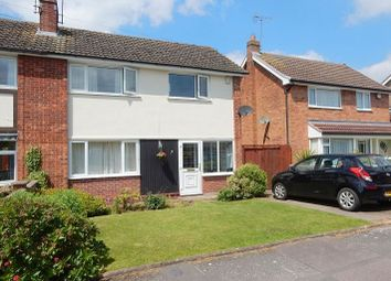 Thumbnail 3 bed semi-detached house for sale in Latimer Close, Blaby, Leicester