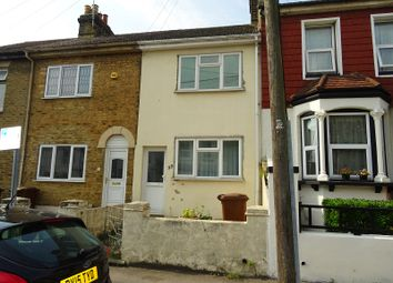 Thumbnail 2 bed terraced house for sale in Stafford Street, Gillingham, Kent.