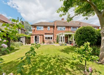 Thumbnail 4 bed semi-detached house for sale in Denleigh Gardens, Thames Ditton