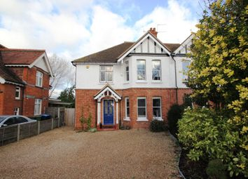 Thumbnail 4 bed semi-detached house to rent in York Road, Woking