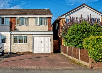 Thumbnail 3 bed semi-detached house for sale in Hednesford Road, Heath Hayes, Cannock