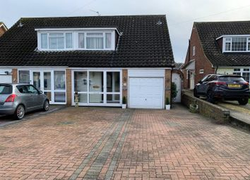 3 bed semi-detached house for sale in Oak Drive, Higham, Rochester ME3