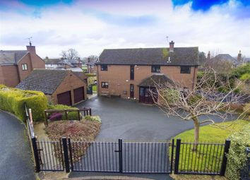 Thumbnail 4 bed detached house for sale in Broomhall Close, Oswestry