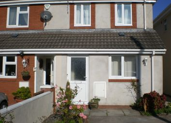 Thumbnail 2 bed semi-detached house to rent in The Mews, Poplar Road, Porthcawl