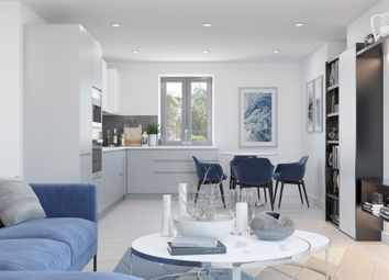 Thumbnail 2 bed flat for sale in Ivory Court, Lily Way, Bowes Road, Palmers Green, London