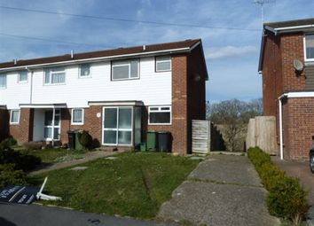 Thumbnail 3 bed end terrace house to rent in Ian Close, Bexhill-On-Sea, East Sussex