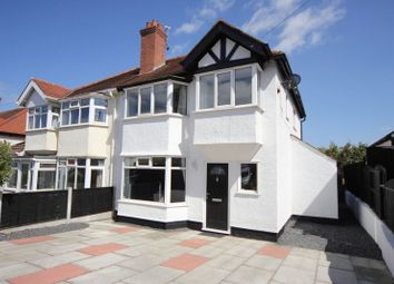 Thumbnail 3 bed semi-detached house for sale in Pine View Drive, Heswall, Wirral