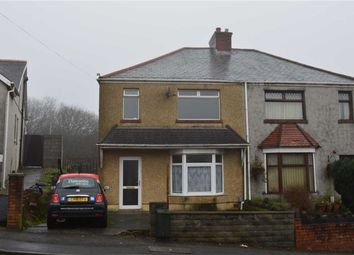 Thumbnail 3 bedroom semi-detached house for sale in Pentregethin Road, Swansea