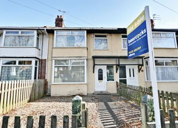 Thumbnail 3 bed terraced house for sale in North Road, Hull
