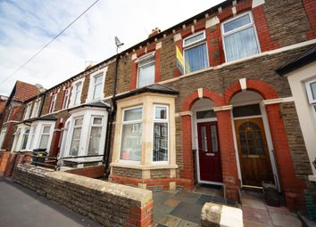 Thumbnail 3 bed terraced house for sale in Diana Street, Roath, Cardiff