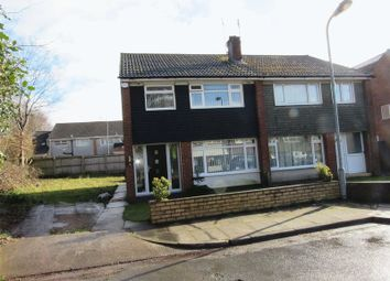Thumbnail 3 bed semi-detached house for sale in Swallowhurst Close, Michaelston-Super-Ely, Cardiff
