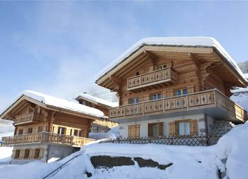 Thumbnail 4 bed chalet for sale in Off Plan Family Chalet, Les Masses, Heremence, Valais, Valais, Switzerland