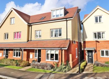Thumbnail 3 bed semi-detached house for sale in Aurora Close, Garston, Watford