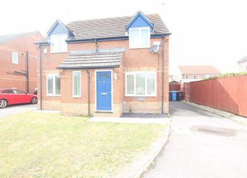 Thumbnail 2 bed semi-detached house to rent in Marbury Park, Kingswood, Hull