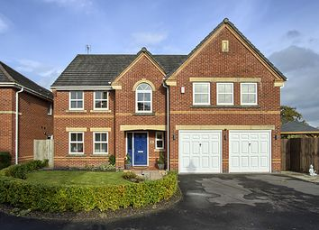 Thumbnail 5 bed detached house for sale in Hawthorn Close, Whalley, Clitheroe BB7, Whalley,