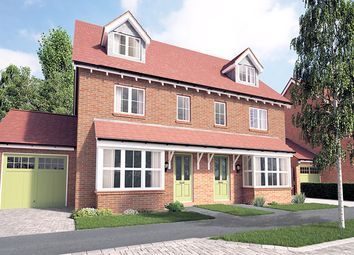 Thumbnail 4 bed semi-detached house for sale in Crockford Lane, Chineham, Basingstoke, Hampshire