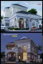 Thumbnail 4 bed detached house for sale in 4 Bed Villa, Amen Estate Phase 2 Eleko Beach Road Lekki Lagos, Nigeria