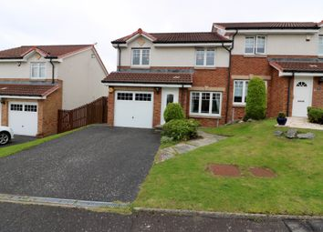 Thumbnail 3 bed semi-detached house for sale in Larch Court, Cambuslang