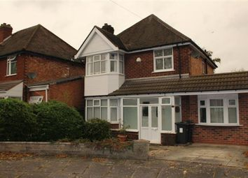Thumbnail 3 bed detached house for sale in Douglas Avenue, Hodge Hill, Birmingham