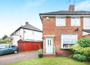 Thumbnail 3 bedroom semi-detached house for sale in Gretton Road, Erdington, Birmingham