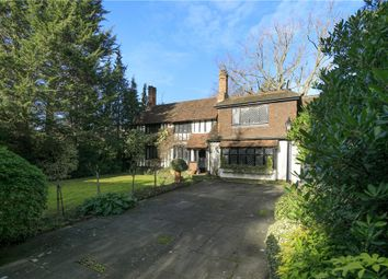 Thumbnail 3 bed detached house for sale in Coombe Hill, Coombe Hill Road