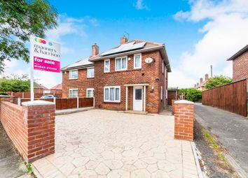 Thumbnail 3 bed semi-detached house for sale in Hurworth Road, Middlesbrough