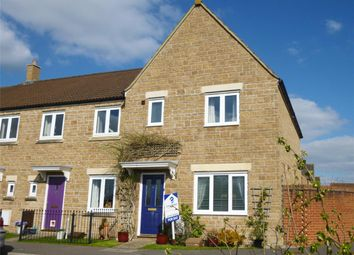 Thumbnail 3 bed end terrace house to rent in Chaffinch Chase, Gillingham, Dorset