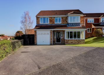 Thumbnail 5 bed detached house for sale in Hollyside Close, Bearpark, Durham