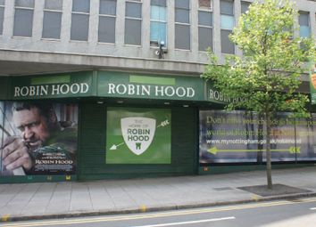 Thumbnail Retail premises to let in 30-38 Maid Marian Way, Nottingham, Nottingham