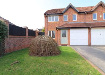 Thumbnail 3 bedroom semi-detached house for sale in Clematis Avenue, Healing, Grimsby