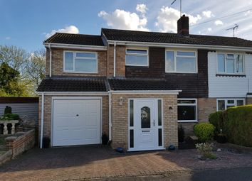 Thumbnail 4 bed semi-detached house for sale in St Marys Close, Thorney, Peterborough