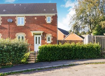 Thumbnail 3 bedroom semi-detached house for sale in Mill Court, Crumlin, Newport