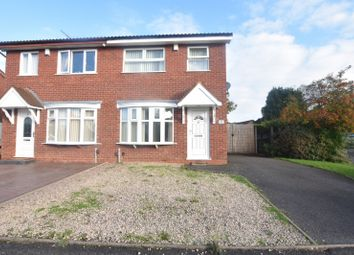 Thumbnail 3 bed property to rent in Bridgemary Close, Wolverhampton